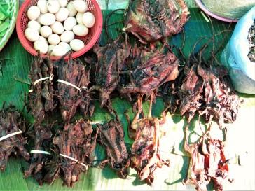Ratos secos na feira - Laos