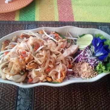 Pad thai de frango