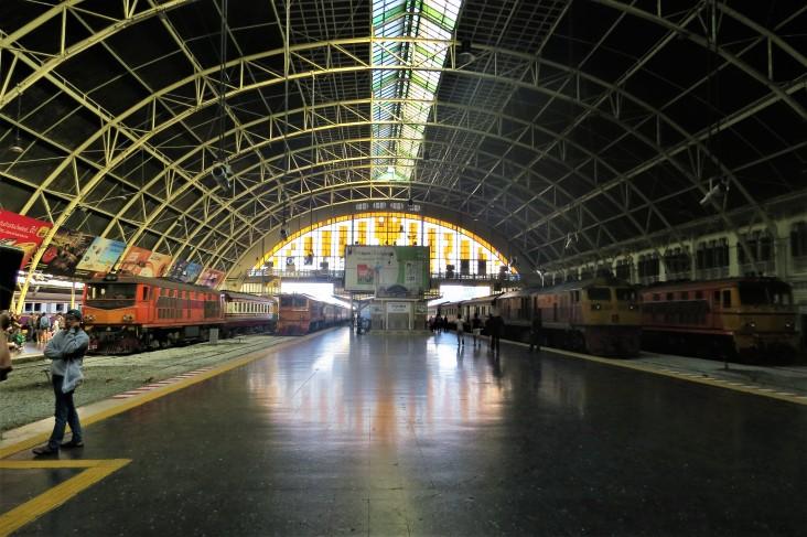 Estação de trem Hua Lamphong em Bangkok