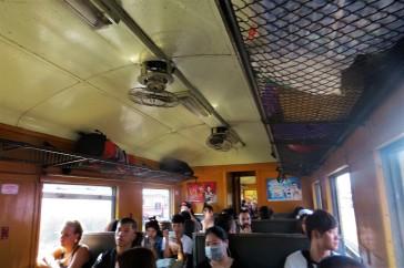 Vagão do trem de terceira classe