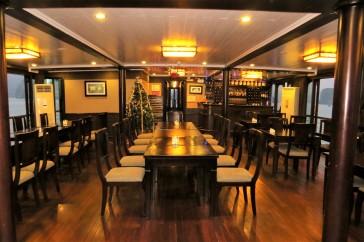 Salão para as refeições.