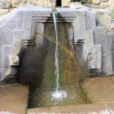 Fonte Inca em funcionamento
