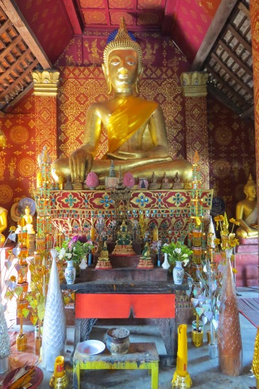 Altar do Wat Sibounheuang