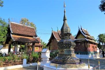 Conjunto de templos e estupas do Wat Xieng Thong