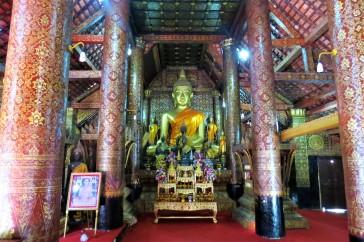 Altar do Wat Xieng Thong