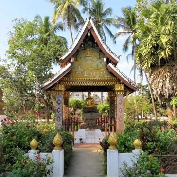 Jardins do Wat Xieng Thong
