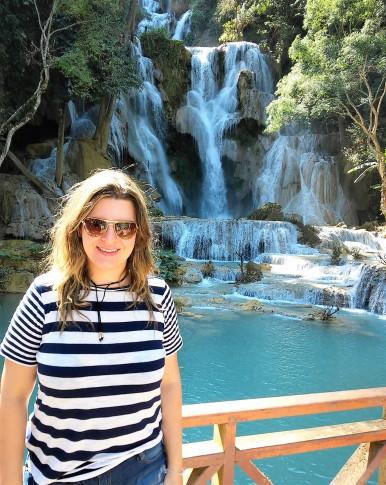 Queda maior - Kuang Si Falls