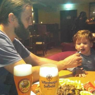 Provando o Schnitzel