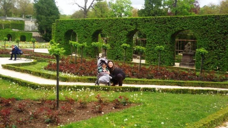 Passeio pelos jardins do Paláio Residenz
