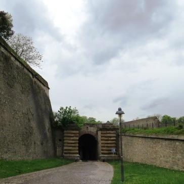 Entrada da fortaleza Festung Marienberg