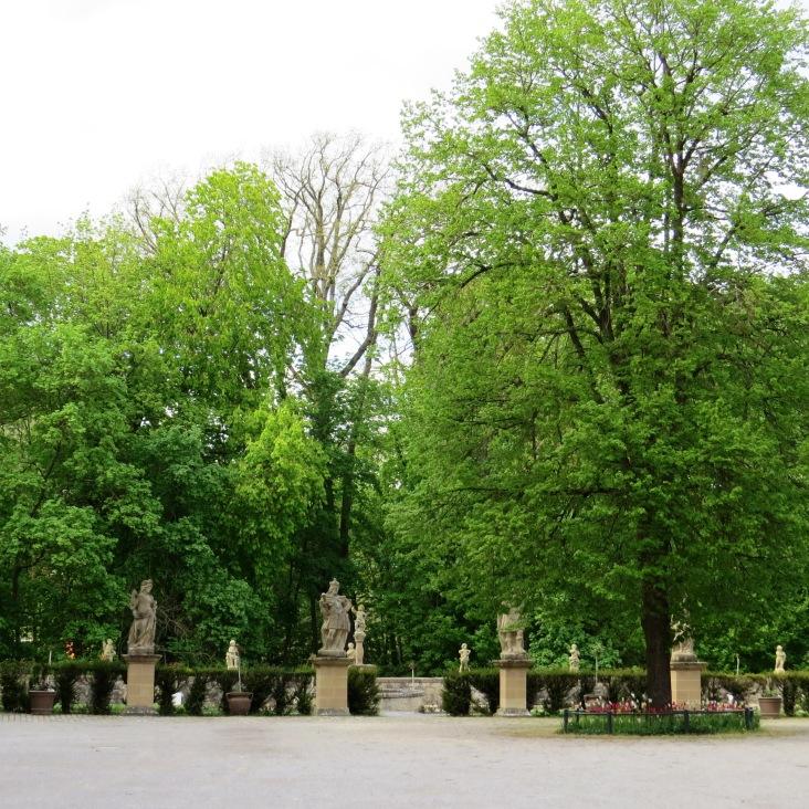 Jardins do castelo de Weikersheim