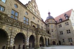 Pátio interno do castelo de Weikersheim