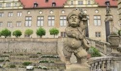 Escultura do castelo de Weikersheim