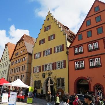 Arquitetura típica no centro da cidade