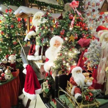 Loja de artigos natalinos em Rothenburg