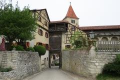 Portão de entrada/saída do castelo