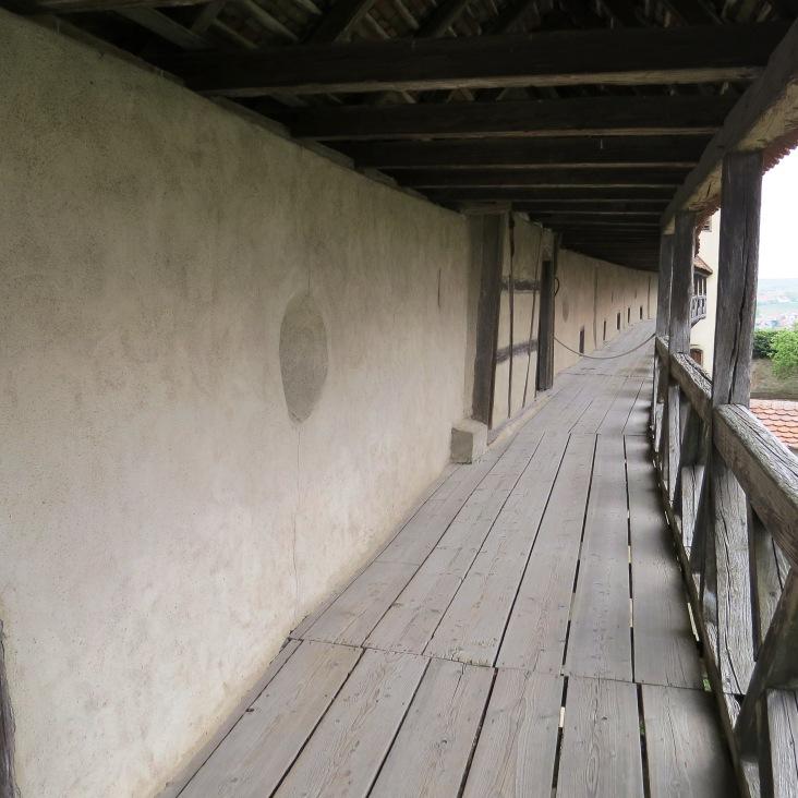 Tour pelo castelo de Harburg - andar superior