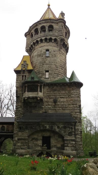 Mutterturm - inspiração para a torre da Rapunzel