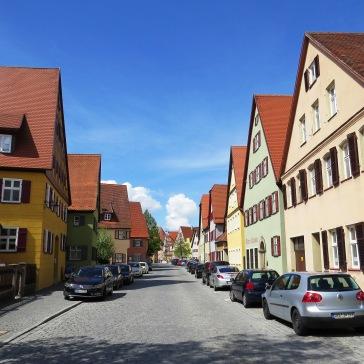 Arquitetura típica em Dinkelsbühl
