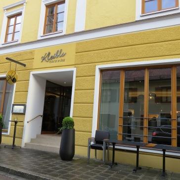 Fachada do restaurante Kleibls, ótima pedida em Nördlingen