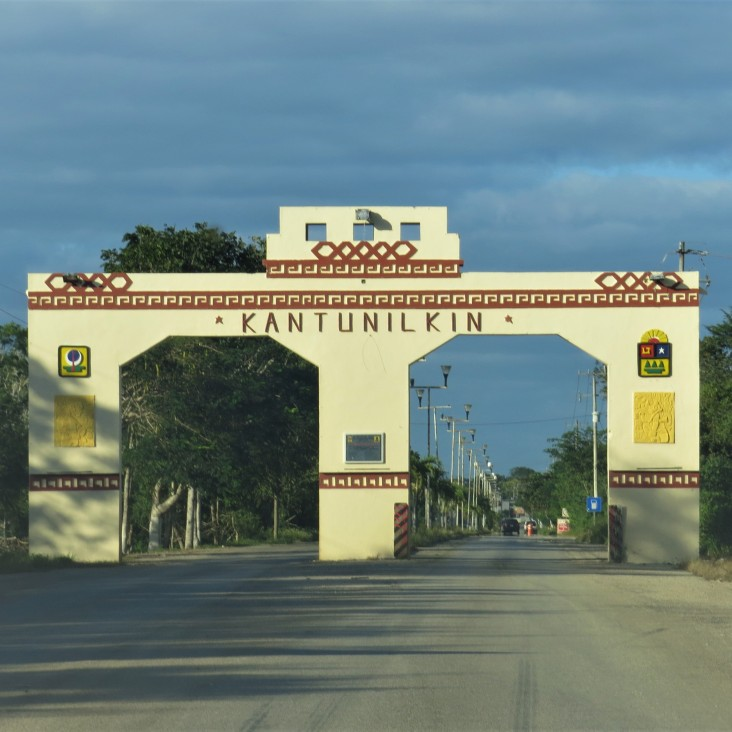 Portal de entrada de Kantunílkin