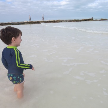 Encantamento: reação ao ver o mar pela primeira vez