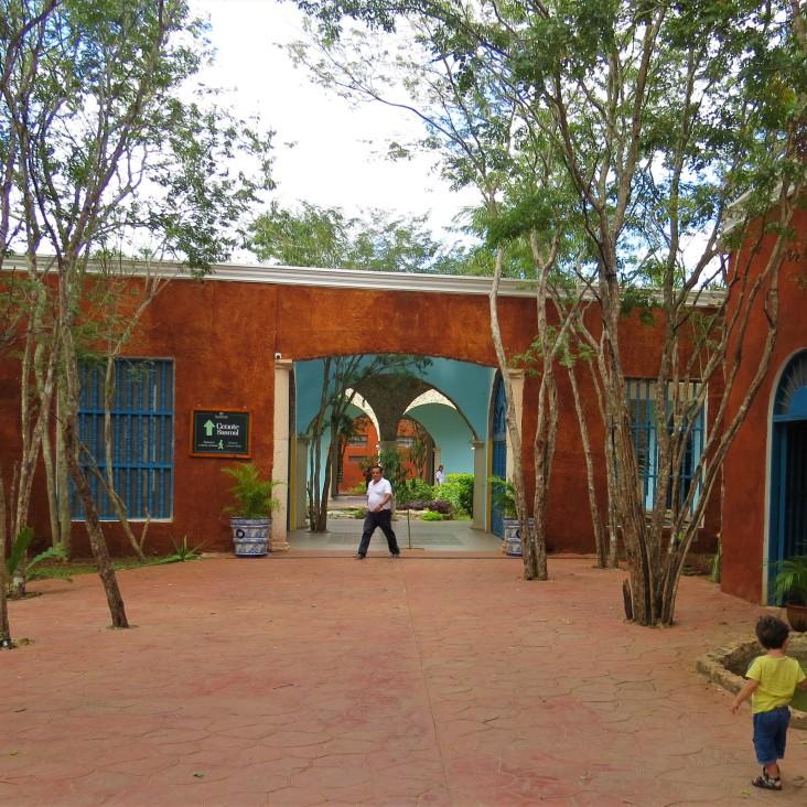 Entrada da Hacienda Selva Maya