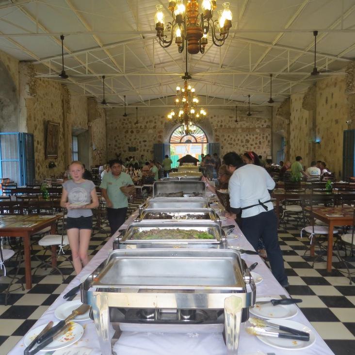 Restaurante Buffet da Hacienda Selva Maya